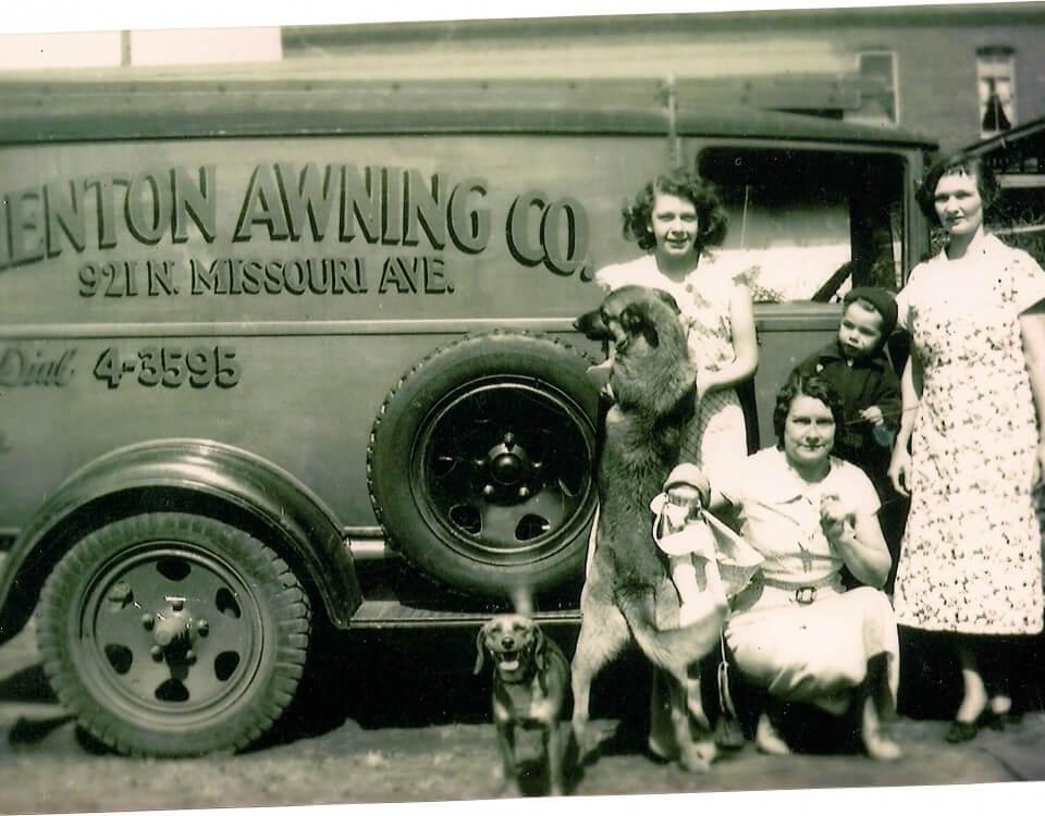 Trenton Awning truck 4 digits