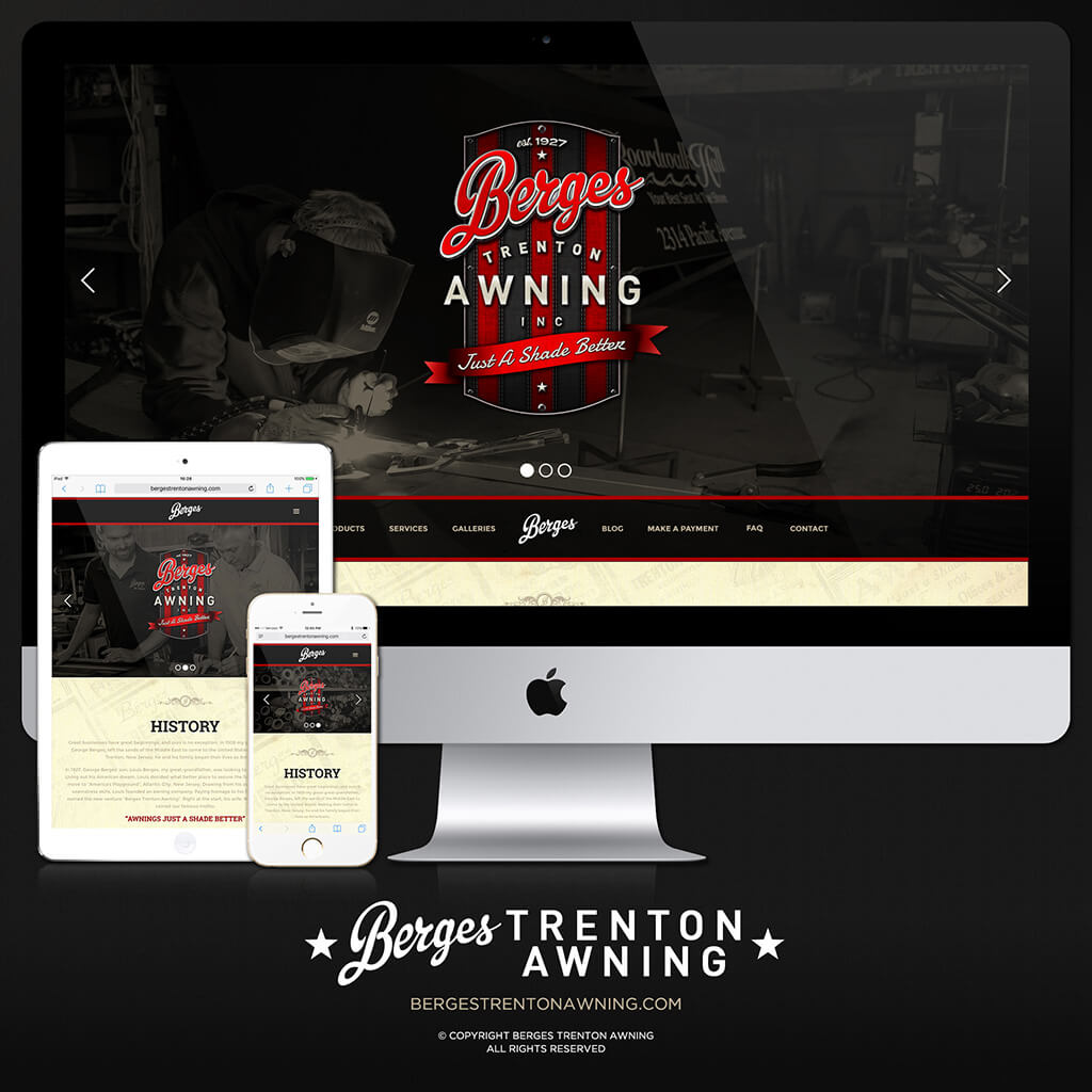 We are proud to launch the new Berges Trenton Awning website